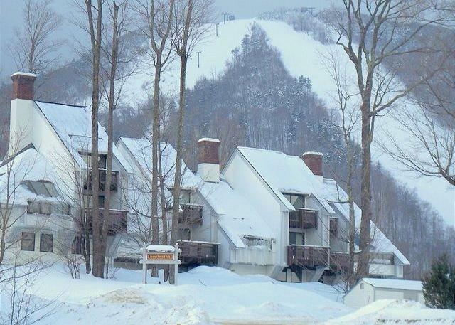 Ski on ski off to Bear Mountain at Killington