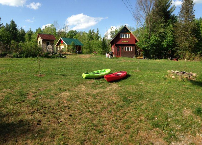 casa de campo común