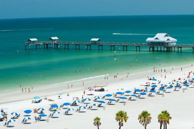 Algumas praias mais bonitas de Tampa, Clearwater e St. Pete apenas a uma curta distância!