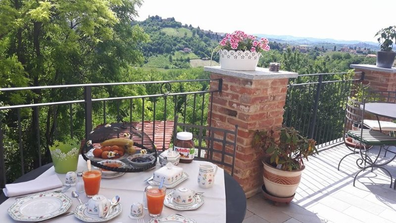 enjoy breakfast with the view