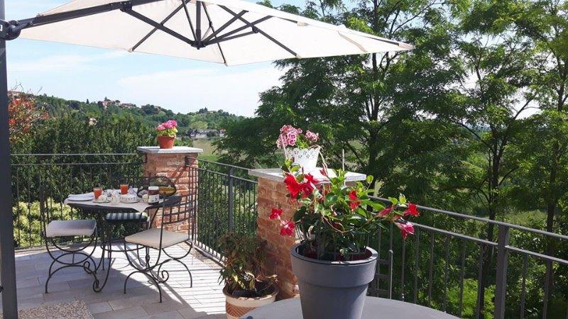 Enjoy long, relaxing breakfasts on the Terrace