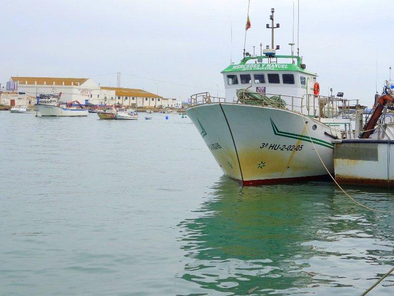 FISHING PORT OF ISLA CRISTINA