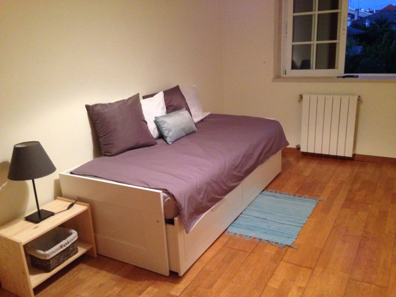 Fourth bedroom with sofa bed for two.
