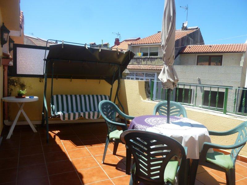 Ático con terraza, casa vacanza a O Rosal