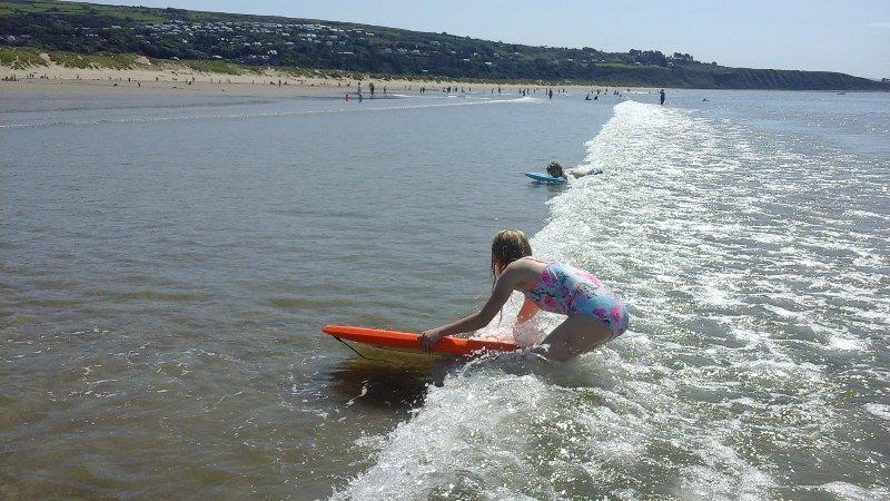 Harlech beach, quiet, safe, sandy and fun!