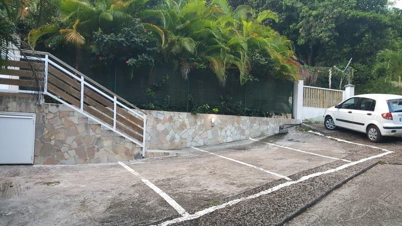 A casa de estacionamento