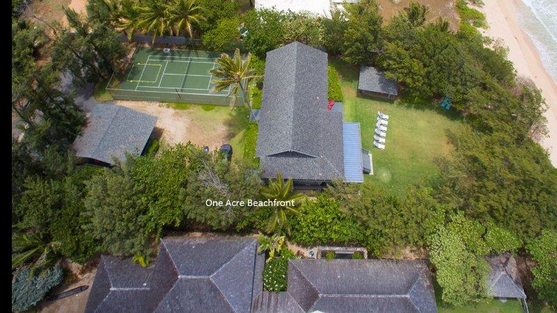 Aerial view of Moani Kaiolohia