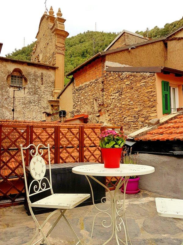 picturesque terrace