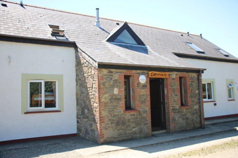 Skomer Lodge, Bunkhouse boende, 5 sovrum, Minsta beläggning 16 gäster, rymmer upp till 22.