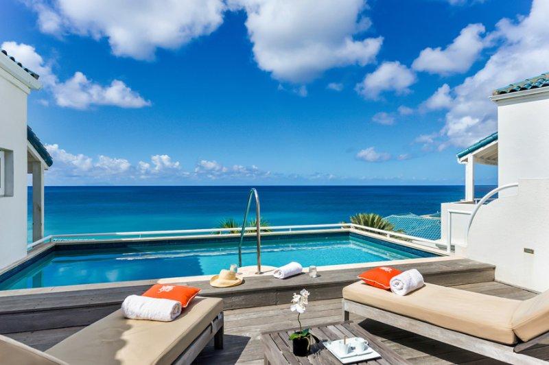 Villa Luna... 3BR Vacation Villa, Shore Pointe, Cupecoy, Dutch St Maarten