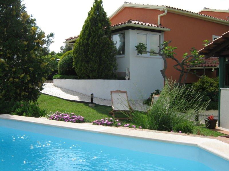 Grape 4+0 with pool, BIZJAK apartments VINKURAN, location de vacances à Vinkuran