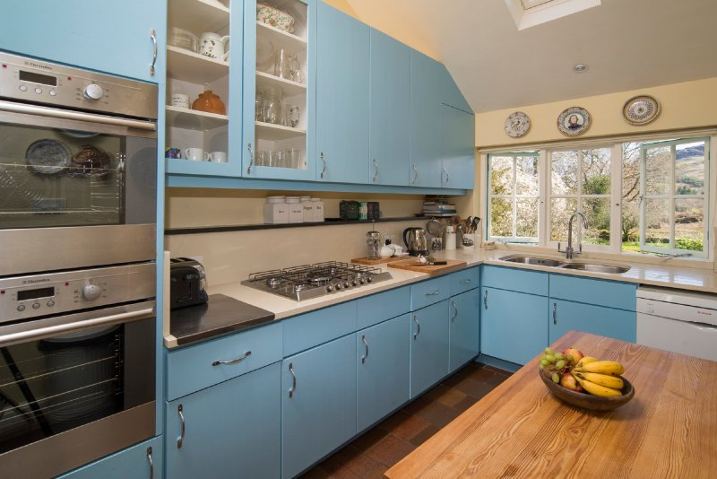 The Kitchen is exceptionally well equipped and has lovely views across the gardens