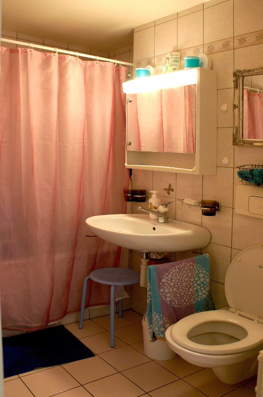 Bathroom with Free Sheets