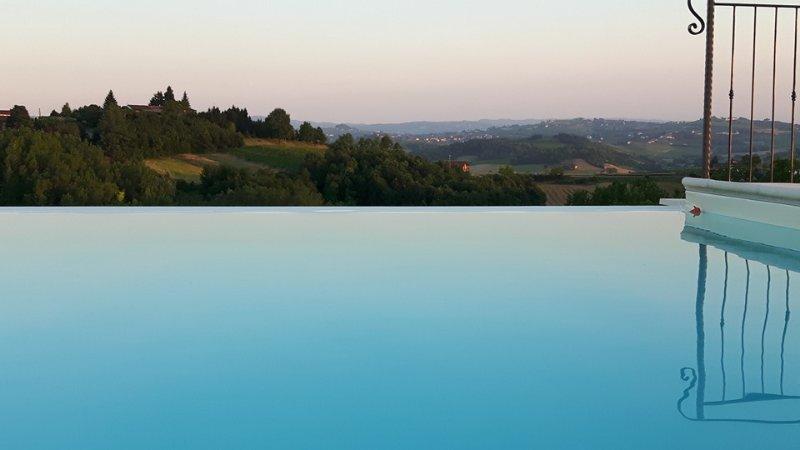 Infinity pool breathtaking view