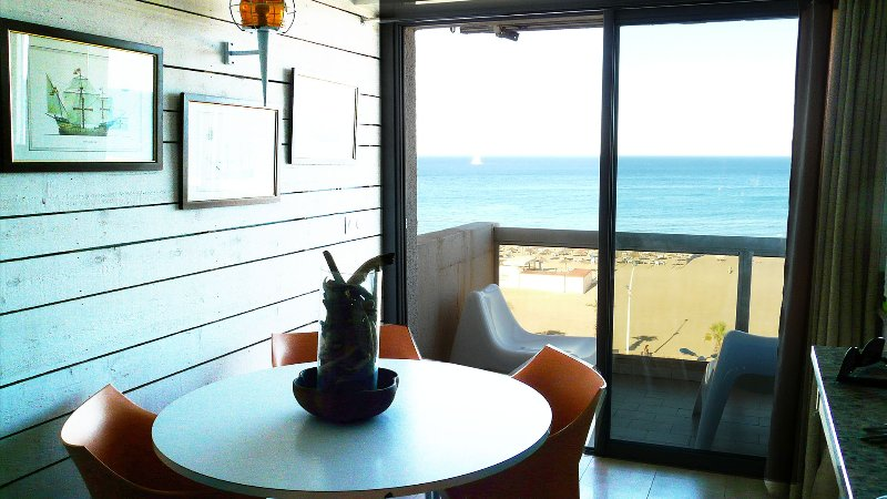 Splendide F3 standing , vue 180° face à la mer, vacation rental in Canet-en-Roussillon