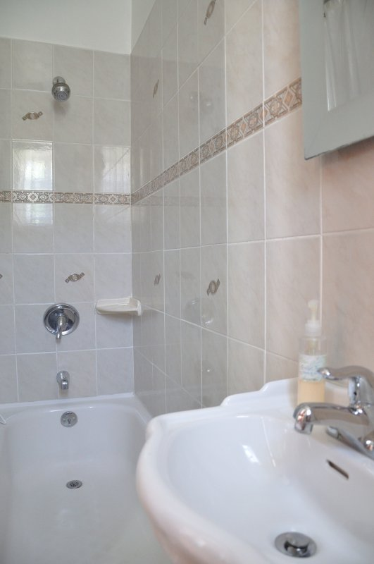 Analita's Bathroom with Sink, Bath and Shower combination