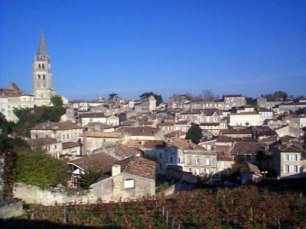 St Emilion - a must visit when in the area. Less than an hour away.