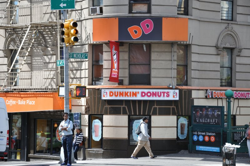 Dunkin' Donuts on West 145th Street