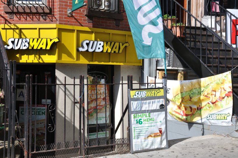 Subway on West 145th Street