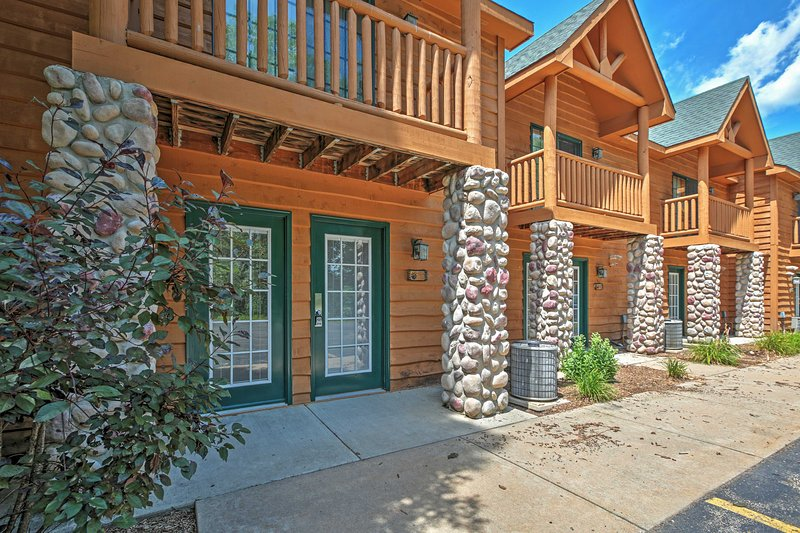 Elevate your North Utica retreat when you book this fantastic vacation rental villa.