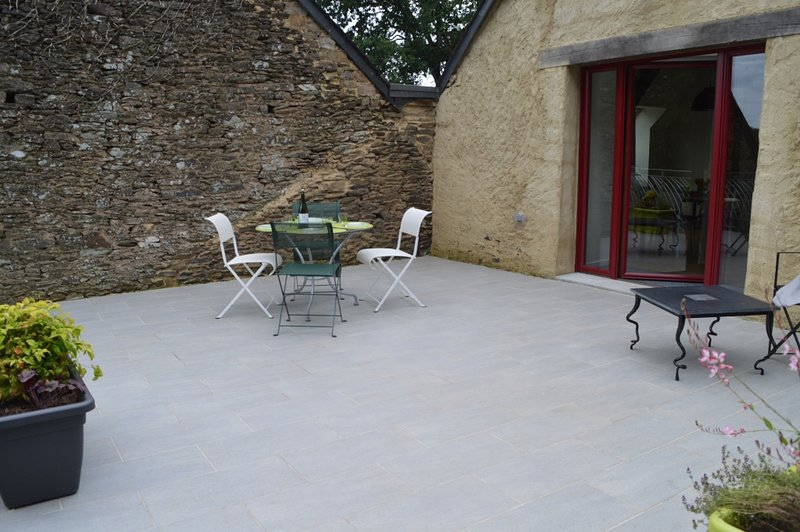 The terrace to enjoy the countryside of sight