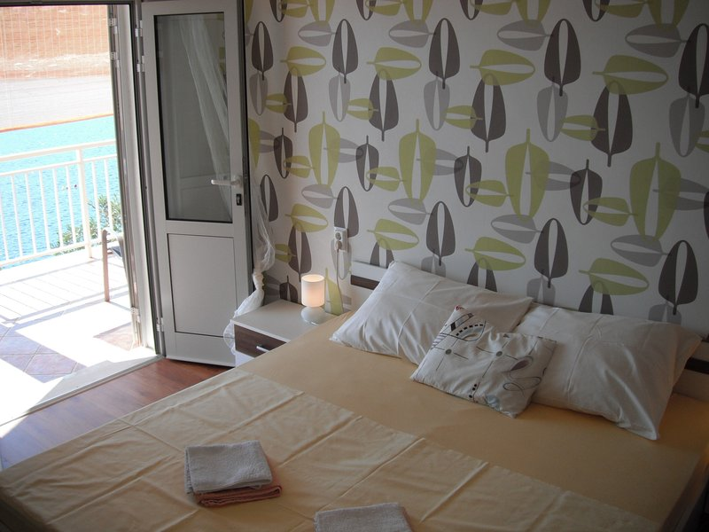 Bedroom 1,  - sea view