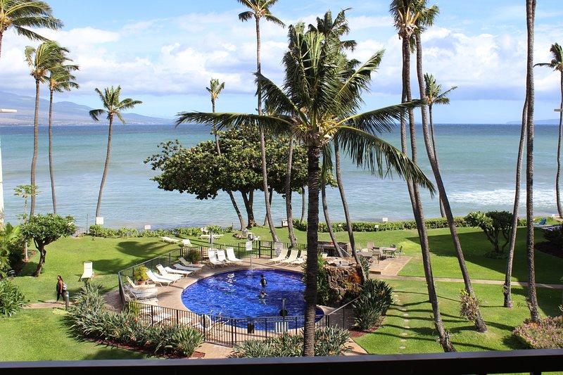 Maui Beachfront Condo, remodeled, holiday rental in Maalaea