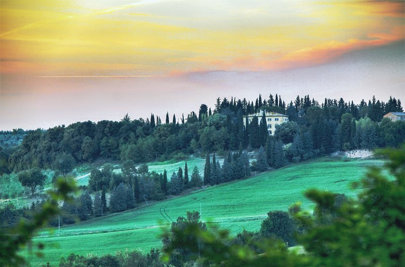 Villa in the Chianti region, Staggia Senese village. Private pool, A/C & Wi-Fi!, vakantiewoning in Poggibonsi