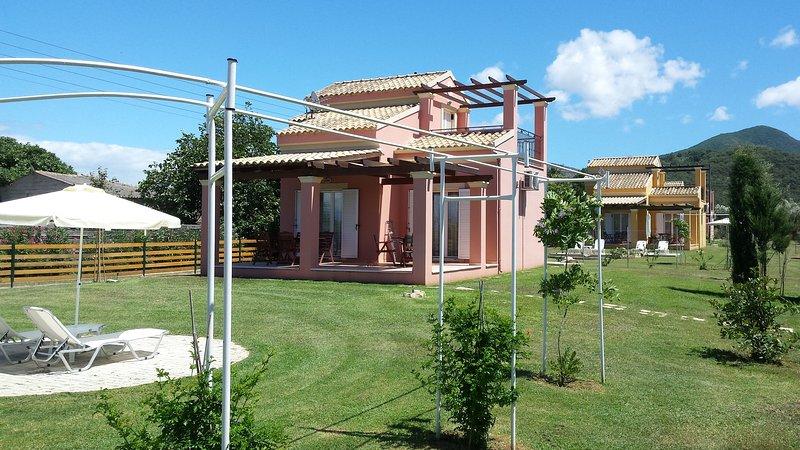 Villa Filia 3. Front view.
