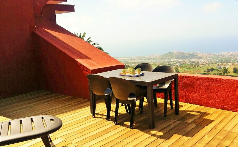 Terrace with spectacular views