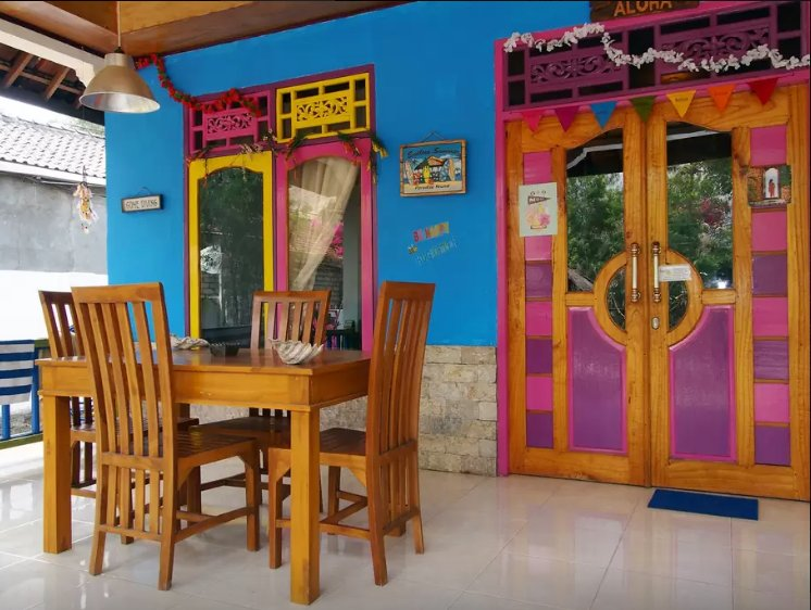 ROOM 4 RENT N 1 - Shared House AC FAN WIFI KITCHEN, holiday rental in Gili Air