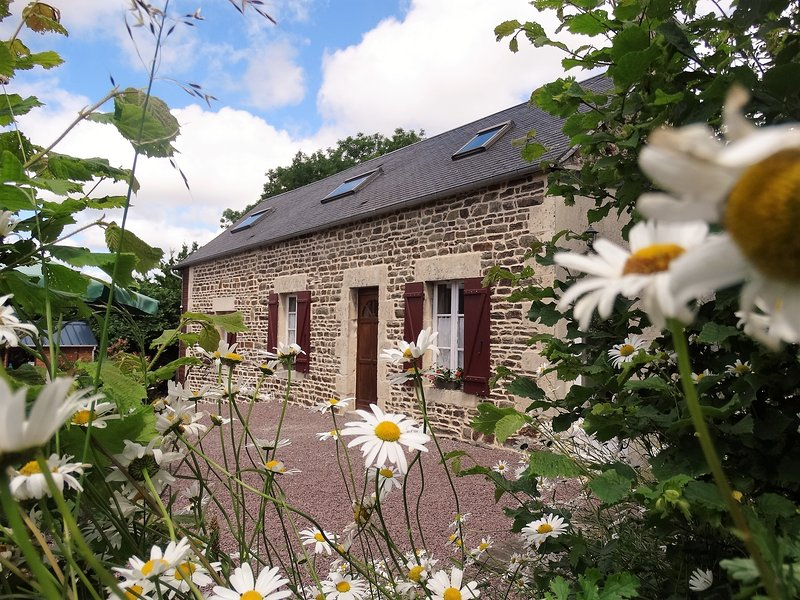 Stone farmhouse in stunning countryside.  Wood stove, beams and oodles of charm., vacation rental in La Villette