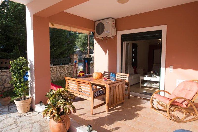 Luxury villa familiale de bord de mer à Lefkas