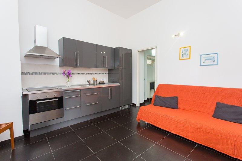 Grey Apartment 4 sleeps, vacation rental in Aeolian Islands