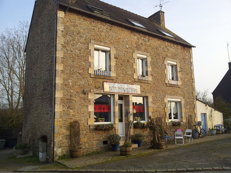 CHAMBRES D'HOTES  LE CHAT BLEU - 'Chambre Bleue', holiday rental in St Nicolas du Pelem