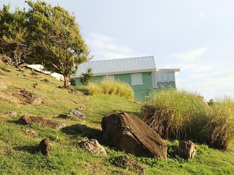Vista de Mapoo Villa desde la cabaña