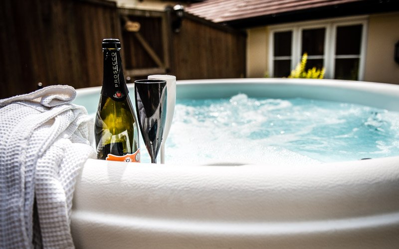 The Retreat secluded and private Hot Tub for your exclusive use