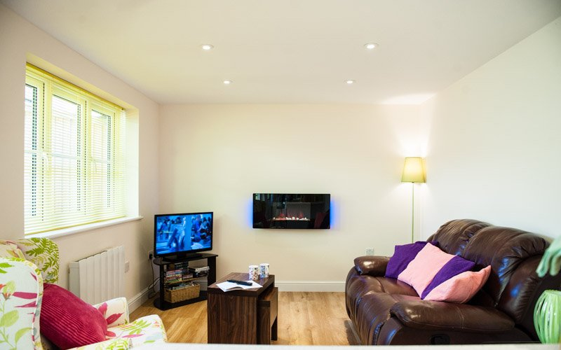 Retreat Sitting Room with feature fire, TV/DVD