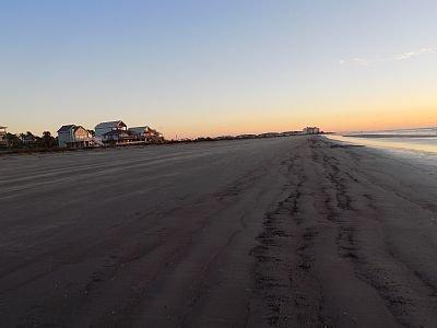 Take peaceful morning walks on the beach.