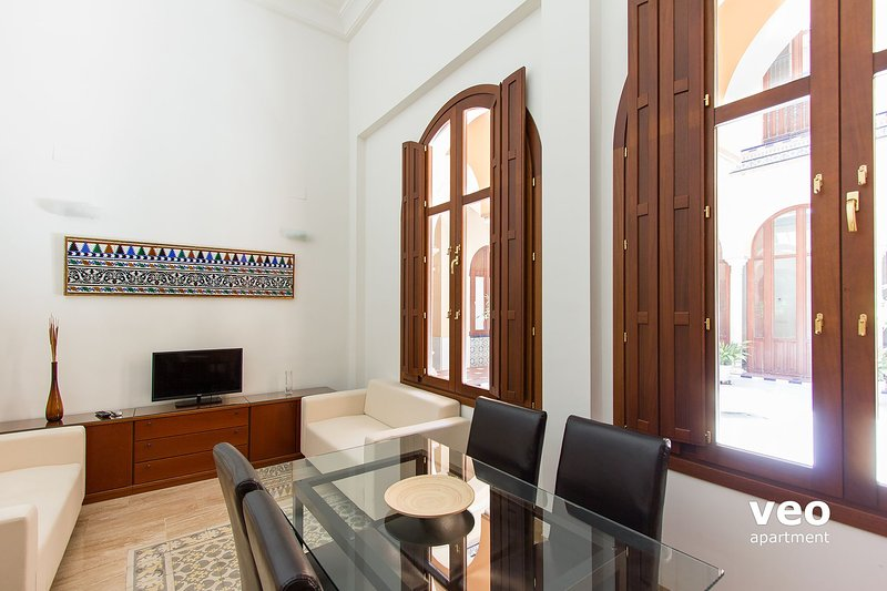 This elegant 3-bedroom duplex apartment can accommodate up to 5 guests.