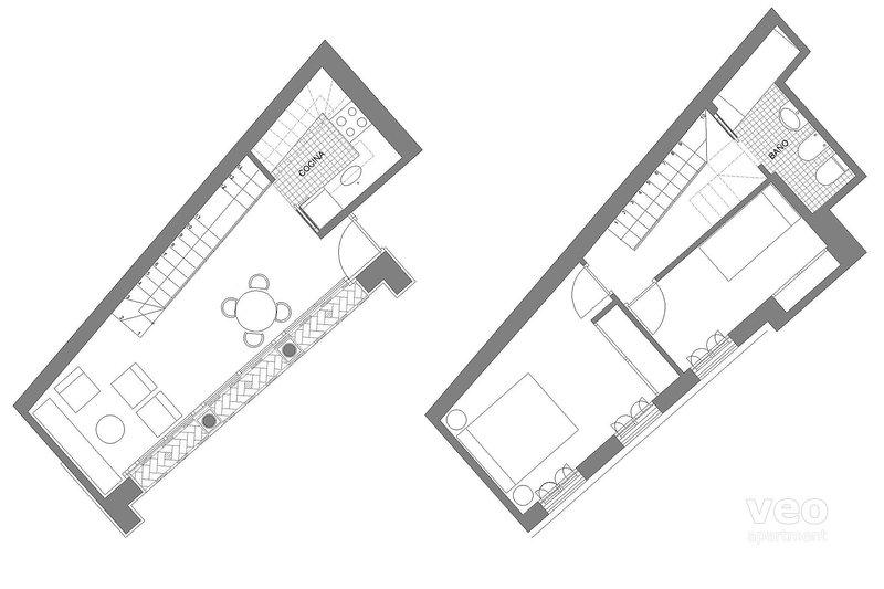 80 sqm + terrace