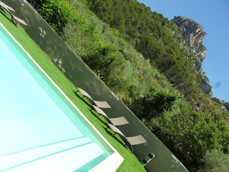 vistas espectaculares sobre as montanhas de Vaucluse
