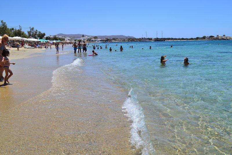 Agia Anna beach. 7 km (14 min by car)