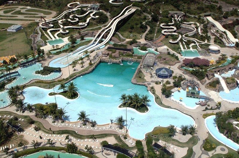 Río planeta de agua, el parque más grande de América latina watter, a 30 segundos de la casa - parque aqua