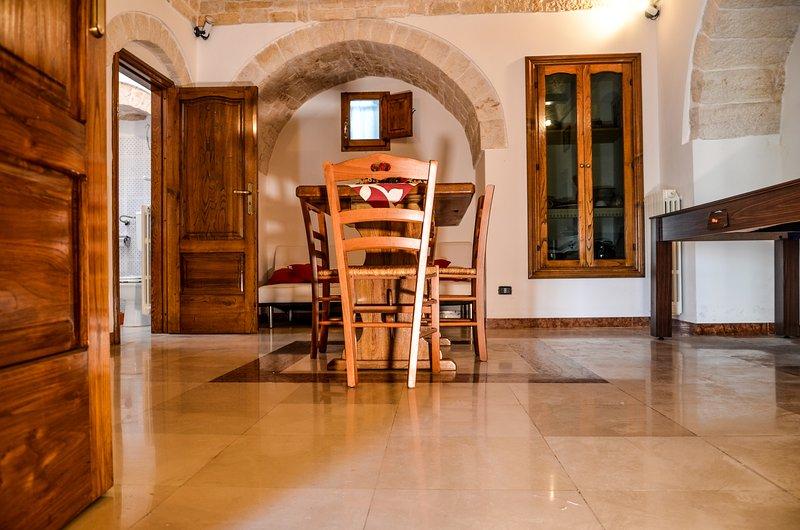 Trullo Superiour (ampio soggiorno, Trullo ideale per 4-5 ospiti)