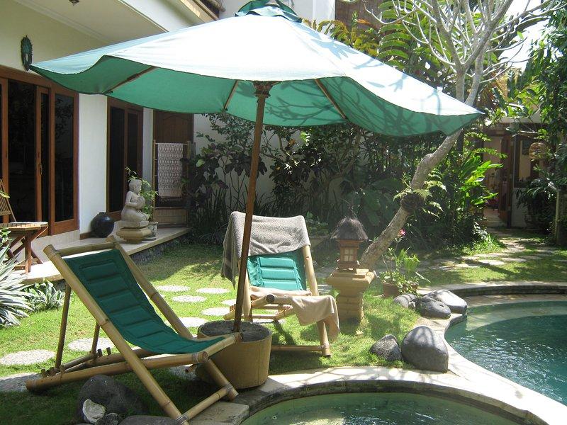 pool deck at swimming pool