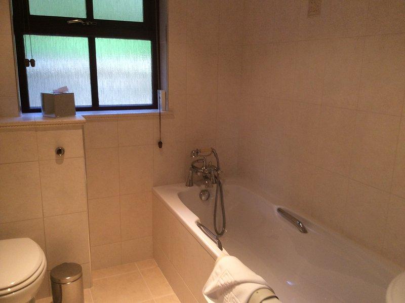 de banho completa (Jack & Jill) banho de chuveiro WC