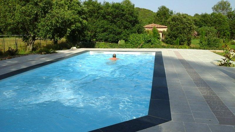 Una piscina tranquila