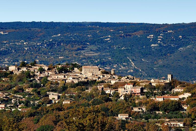 Le village de Goult