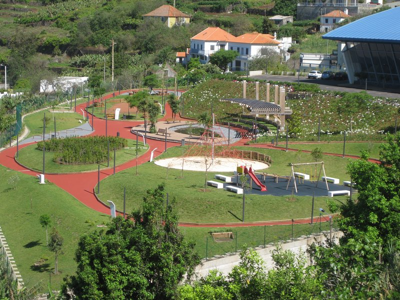 Village Playground and picnic area 3mins walk from our Villa